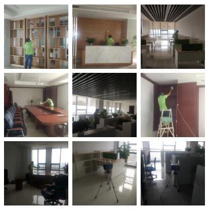 六分局新建办公室场所除甲醛