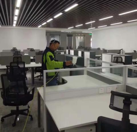 天然气集团新装修办公场所除甲醛